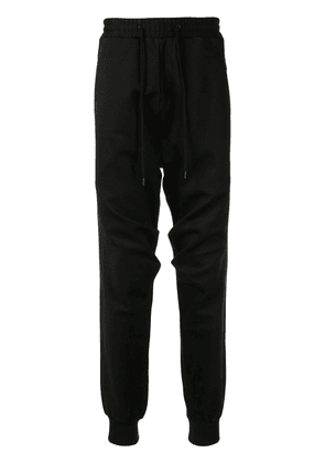 Devoa tapered trousers - Black