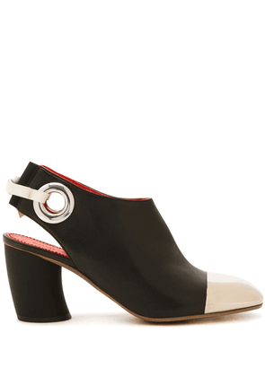 Proenza Schouler toe cap booties - Brown