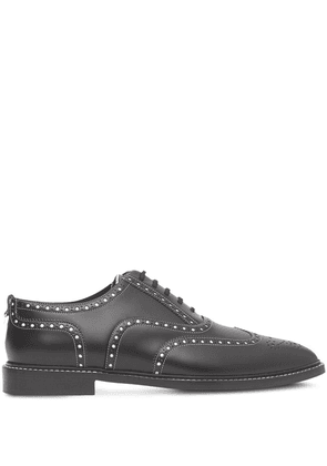 Burberry D-ring two-tone Oxford brogues - Black