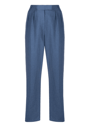 Frenken tapered leg trousers - Blue