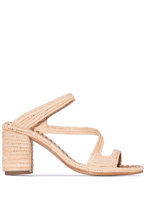Carrie Forbes Salah 30mm sandals - Neutrals