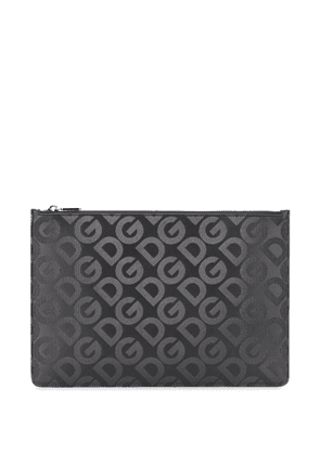 Dolce & Gabbana DG Mania zipped clutch - Black