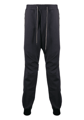 Devoa drawstring track pants - Grey