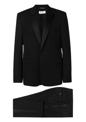 Saint Laurent peak lapels tuxedo - Black