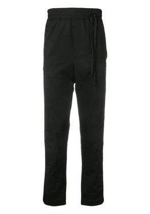 Damir Doma side drawstring track pants - Black