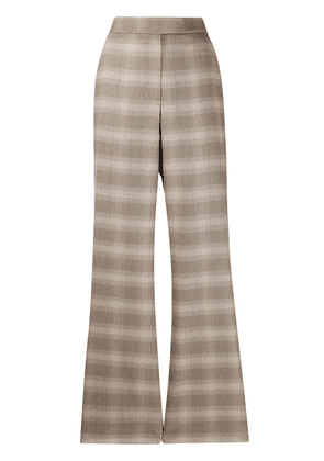 Frenken check trousers - Neutrals