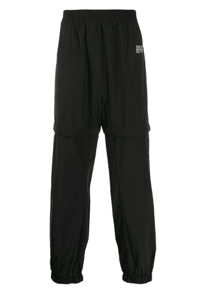Off-White Arrows layered track pants - Black