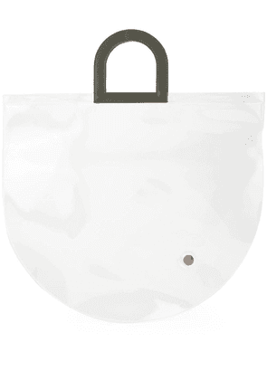 Building Block Stencil in Clear PVC tote bag - Neutrals