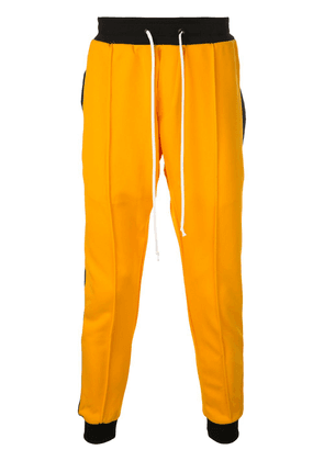 Daniel Patrick slim track trousers - Yellow