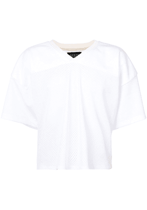 Fear Of God cropped Manuel T-shirt - White