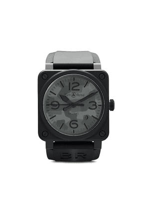 Bell & Ross BR 03-92 42mm - BLACK AND GREY
