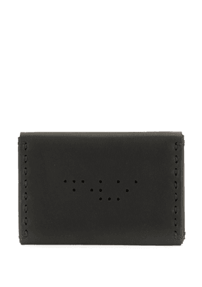 Devoa perforated detail cardholder - Black