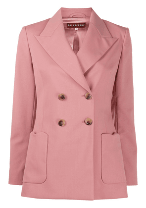 Alexa Chung double breasted blazer - Pink