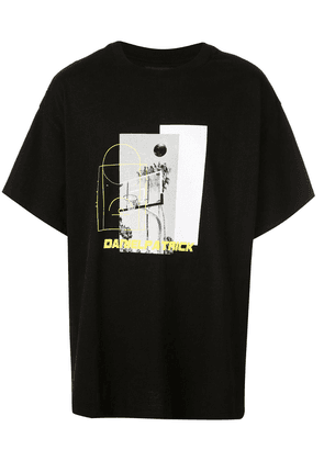 Daniel Patrick graphic T-shirt - Black