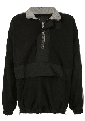 Daniel Patrick overhead windbreaker jacket - Black