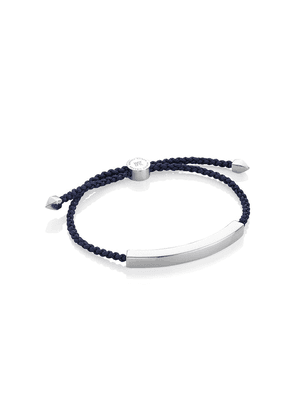 Monica Vinader Linear Large bracelet - Blue