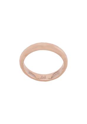 Monica Vinader Havana thin ring - GOLD