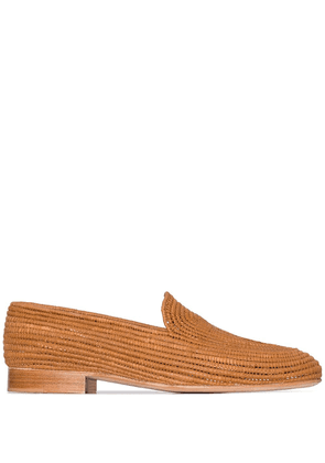Carrie Forbes Atlas loafers - Brown