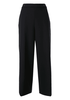 Elie Tahari Juno cropped trousers - Blue