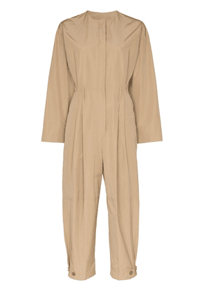 Givenchy cargo jumpsuit - Neutrals