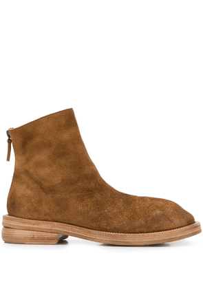 Marsèll chunky heel suede ankle boots - Brown