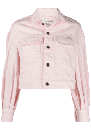Forte Dei Marmi Couture cropped jacket - PINK