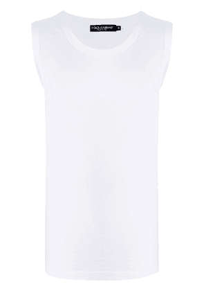 Dolce & Gabbana oversized tank top - White