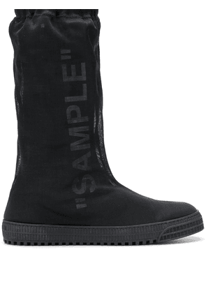 Off-White Sample boots - Black