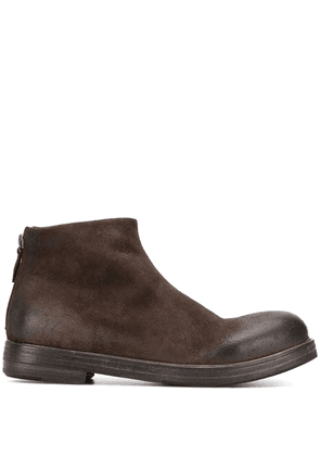 Marsèll zip up ankle boots - Brown