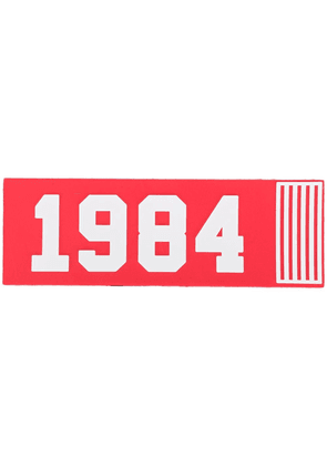 Dolce & Gabbana patch 1984 - Red