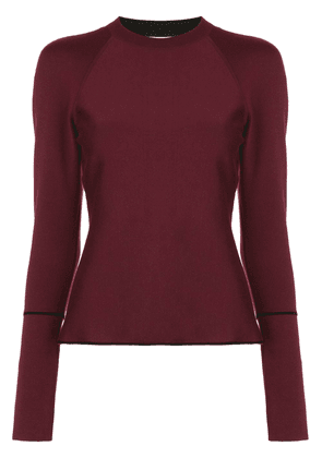Casasola double face fine jumper - Red