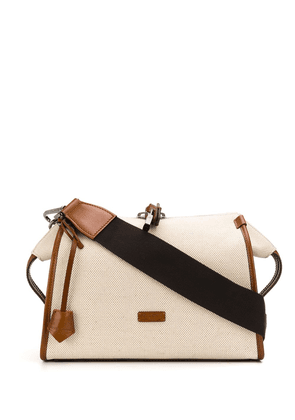 Dolce & Gabbana top zip shoulder bag - Neutrals