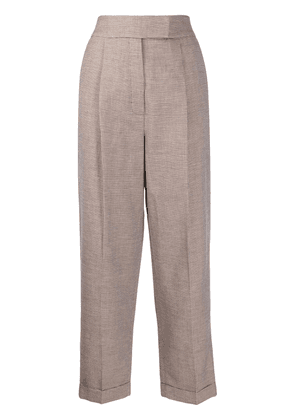 Frenken tapered trousers - Neutrals