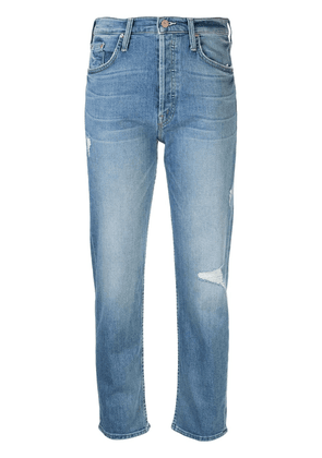 MOTHER The Tomcat slim-fit jeans - Blue