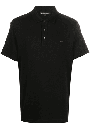 Michael Kors Collection short sleeved polo shirt - Black