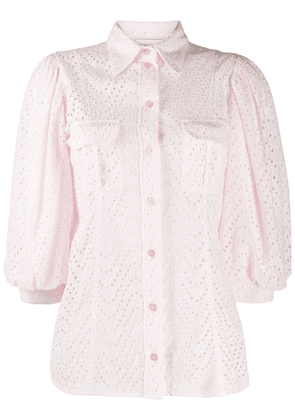 Forte Dei Marmi Couture embroidered blouse - PINK