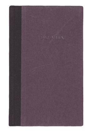 Prada logo pocket diary - Blue