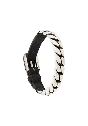 Gucci buckled chain bracelet - SILVER