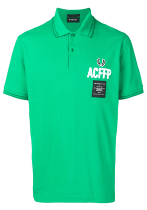 Fred Perry X Art Comes First embroidered logo polo shirt - Green
