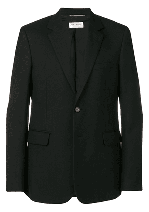 Saint Laurent fitted single-breasted blazer - Black