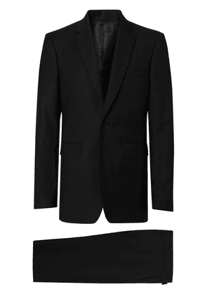 Burberry Classic Fit Wool Suit - Black