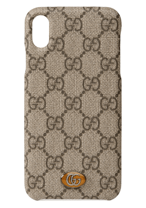 Gucci Ophidia iPhone XS Max case - Neutrals