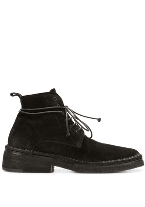 Marsèll lace-up suede ankle boots - Brown