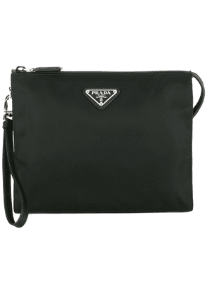 Prada nylon wash bag - Black