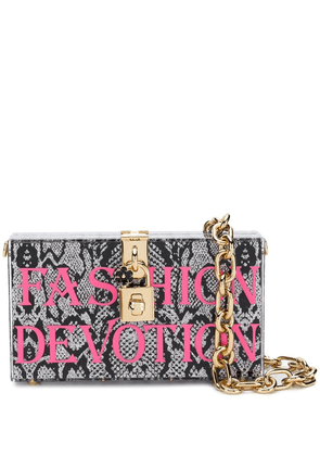 Dolce & Gabbana Fashion Devotion box clutch - Black