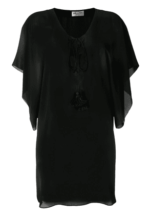 Saint Laurent beach cover-up - Black