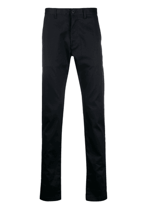 Saint Laurent slim-fit tailored chino trousers - Blue