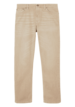 Burberry straight-fit washed-effect jeans - Neutrals