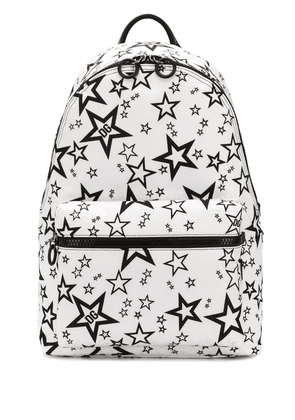 Dolce & Gabbana Millennials Star printed backpack - White