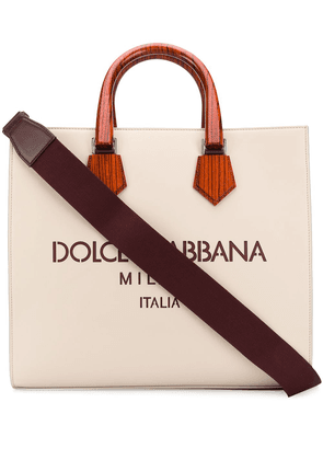 Dolce & Gabbana Edge tote bag - Neutrals